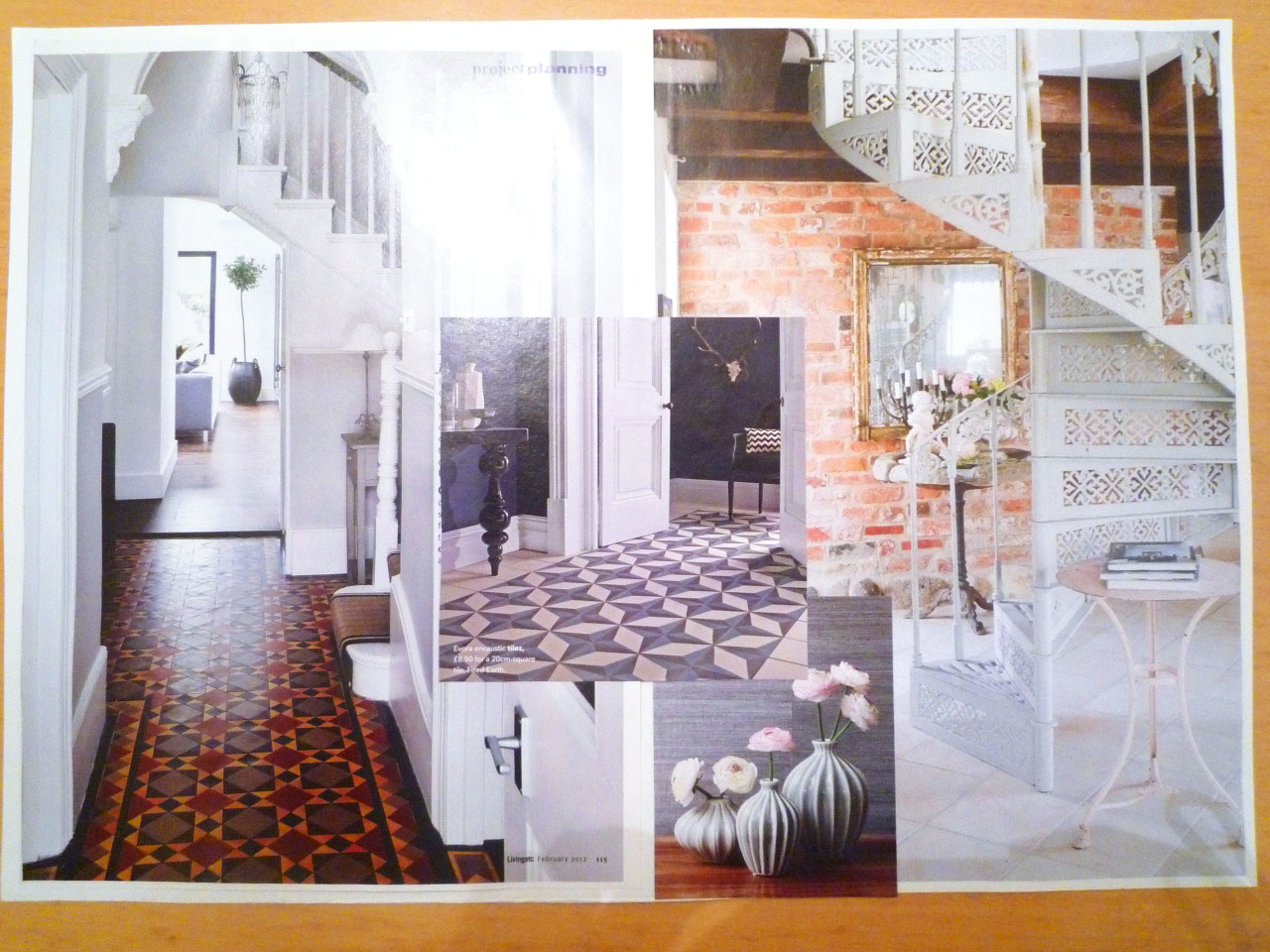 13 15 guildhall road mood boards 2 interior designer antonia lowe Bathroom design leamington spa
