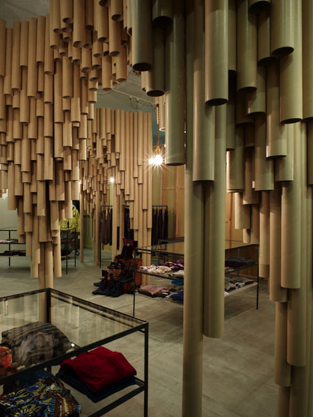 Suppose Design Office, A Japanese Architect Company Have Completed A  Boutique In An Hiroshima Shopping Centre. Their Design Is Constructed Using  Cardboard ...
