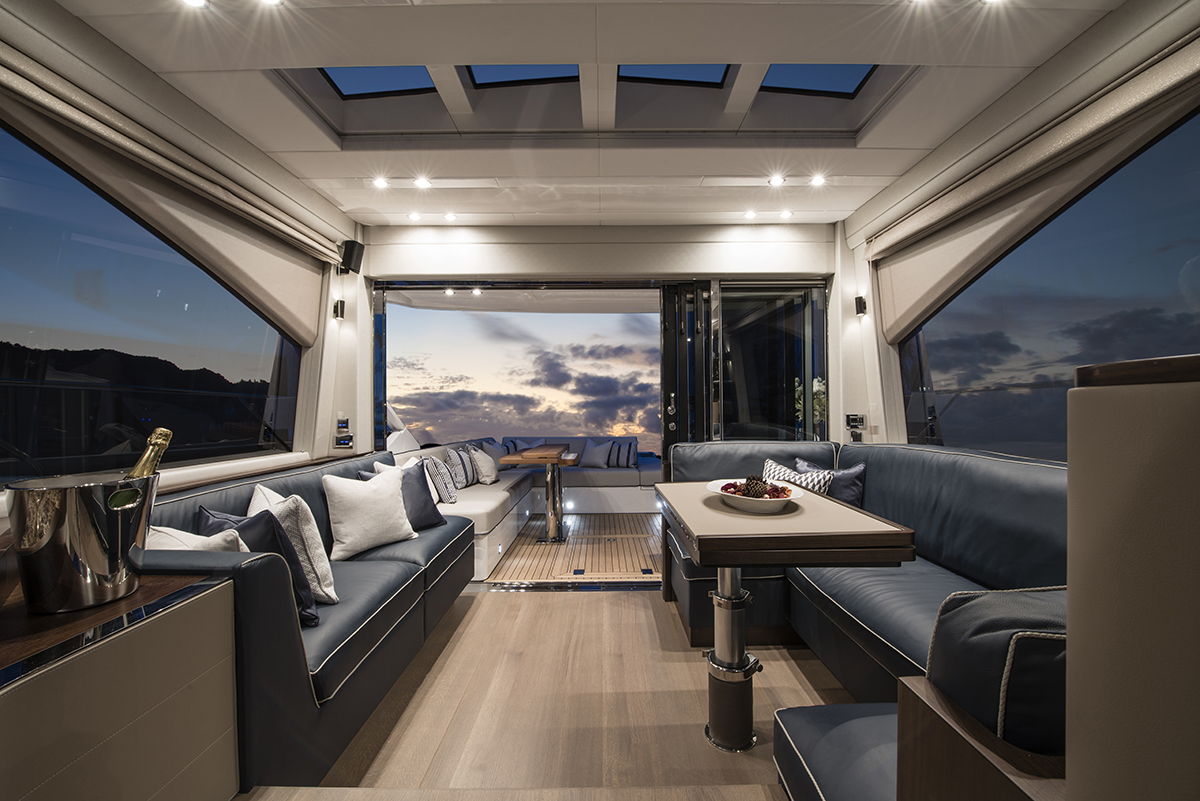 My Favourite Fairline Yachts Interior Designer Antonia Lowe