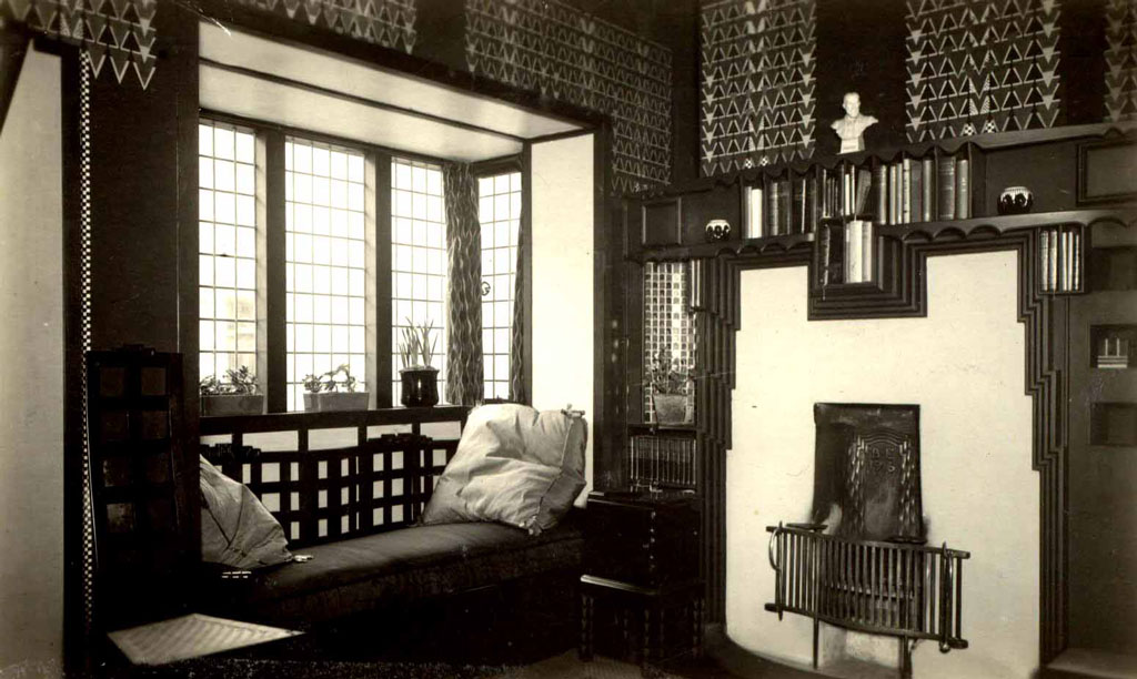 Northampton cultural quarter 78 derngate interior for Dining room northampton