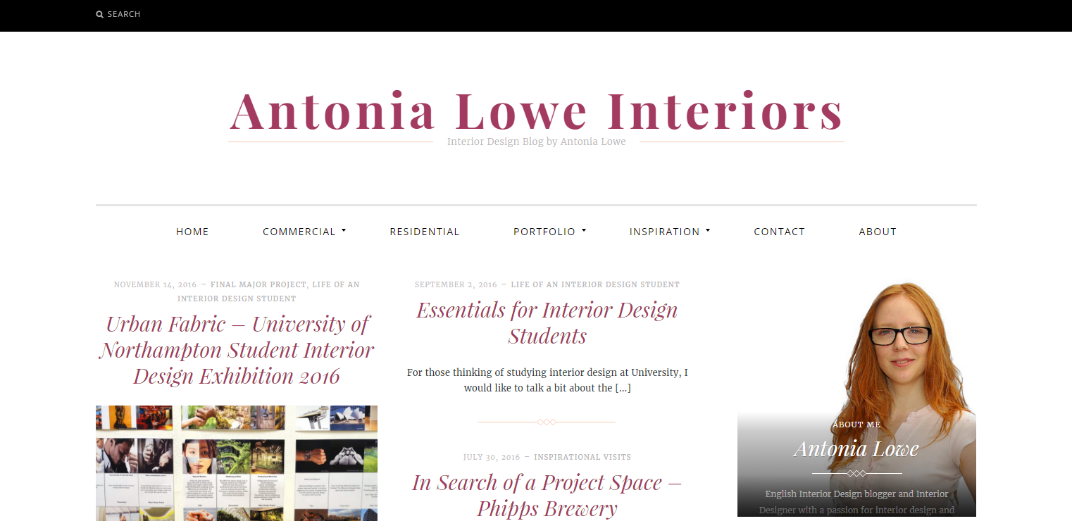 The 10 Most Important Things To Do As An Interior Design Student Interior Designer Antonia Lowe