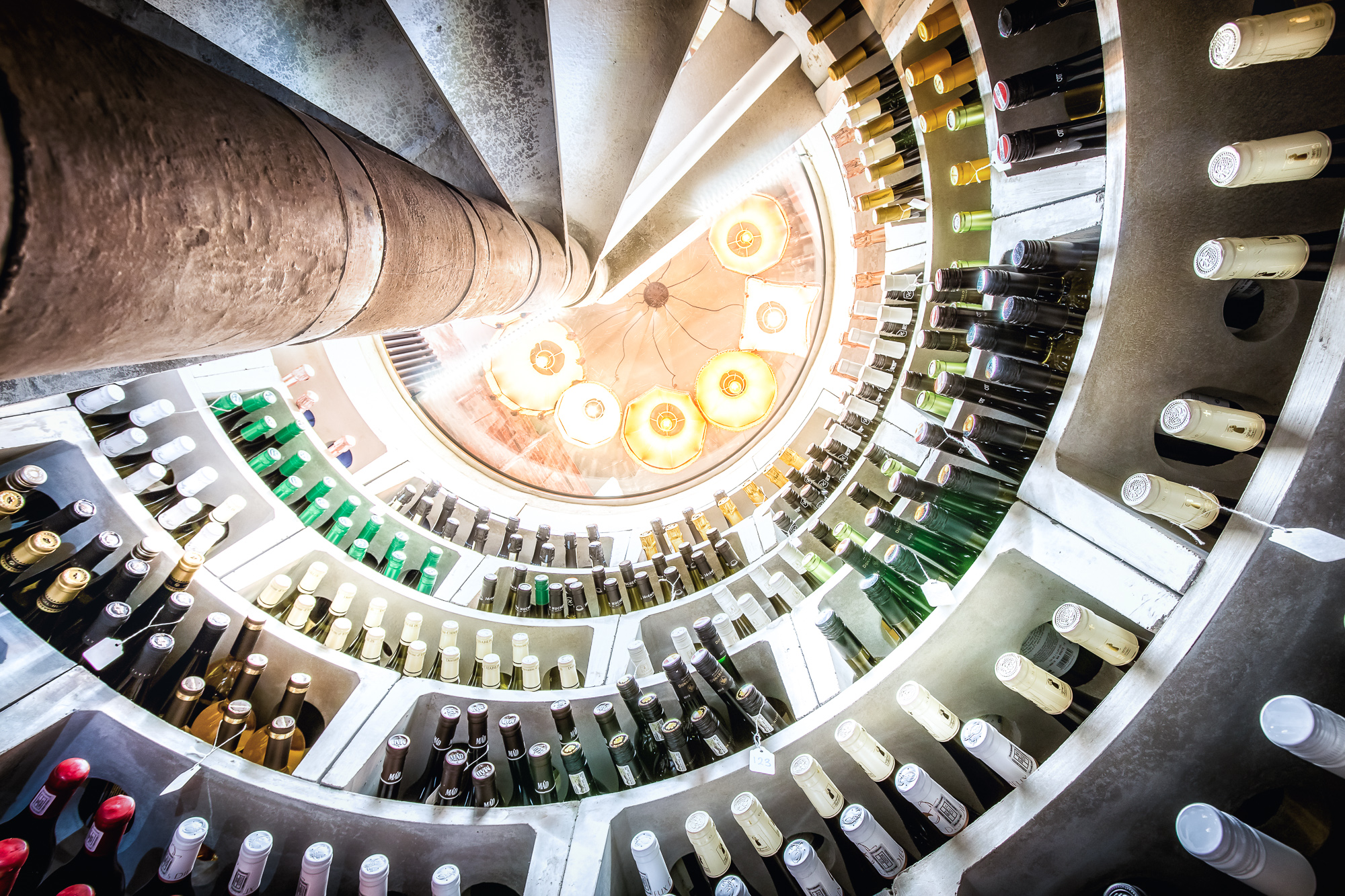 For a possible addition to the basement I have considered digging down further to insert a spiral cellar into the gin bar area of the basement which would ... & Spiral Cellars - Potential Addition to the Basement - Interior ...