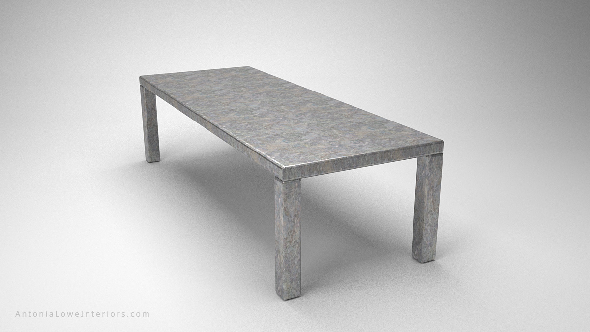 Industrial Steel Office Table large rectangular stainless steel office table