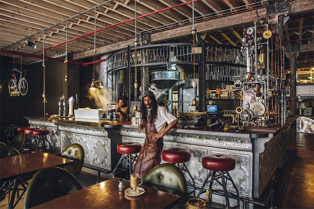 Truth Coffee Shop – Cape Town (Precedent for Project)
