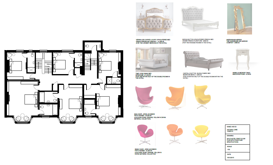 how to design floor plans the guild hotel furniture plans and specifications interior designer antonia lowe 8898