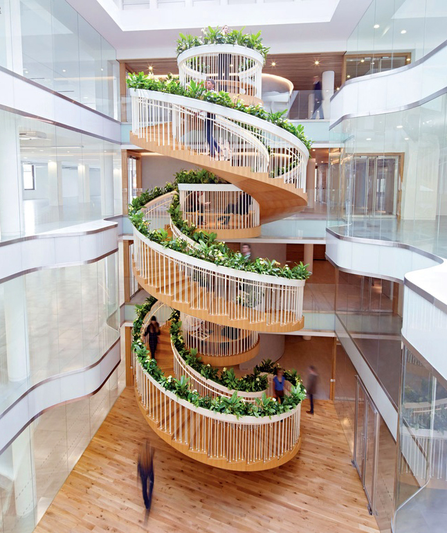 The Living Staircase – Ampersand London – Paul Cocksedge – FMP Precedent