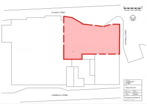 The Albion Brewery Existing Block Plan