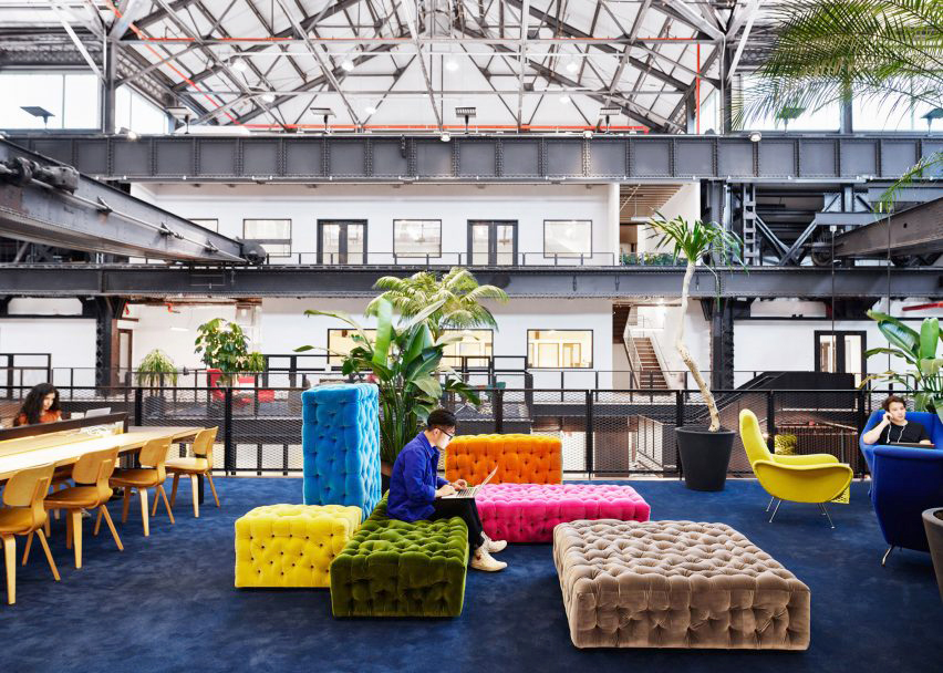 """New Lab – """"Offices Structured like College Campuses are Rejuvenating Workplace Design"""" – FMP Precedent Research"""
