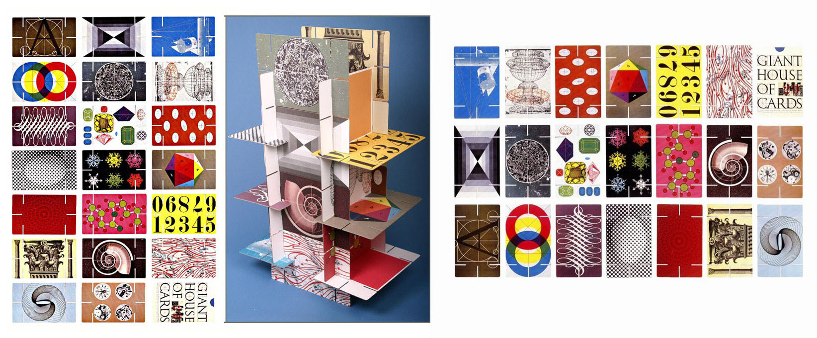 Eames House of Cards – Precedent for Board Game Cards – (RSA)