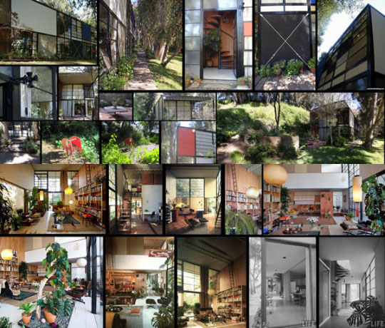 The Work of Charles and Ray Eames – My Personal Views (The Eames House – Architecture and Interior Design)