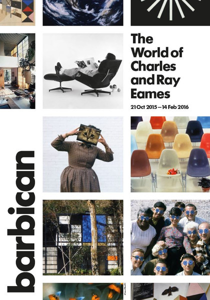 The World of Charles and Ray Eames Exhibition – Barbican