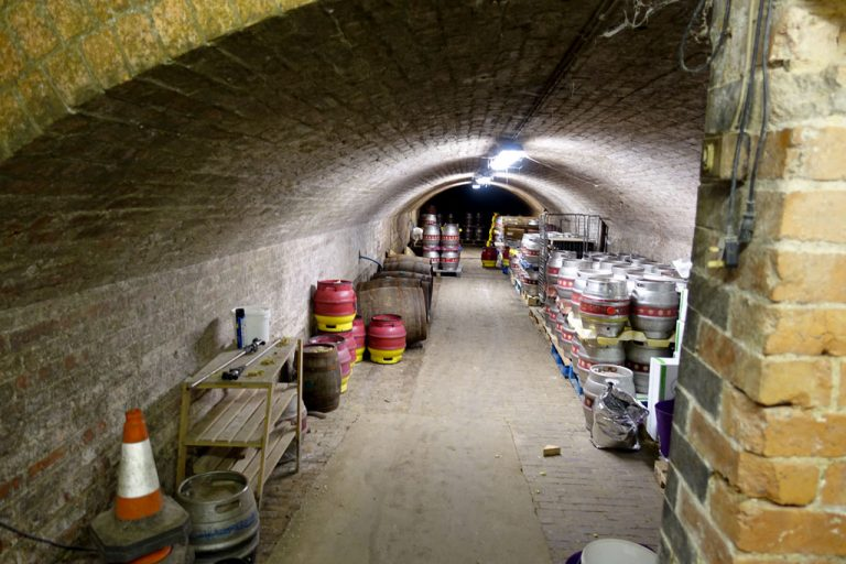 The Albion Brewery Interior Photographs – Basement