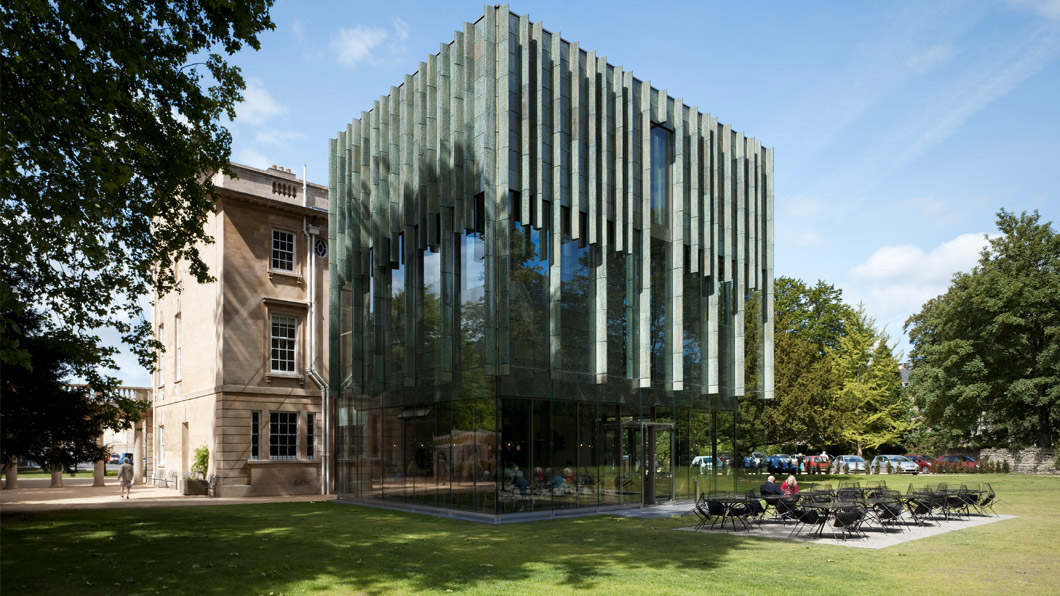 Holburne Museum – Eric Parry Architects – Glass Extension