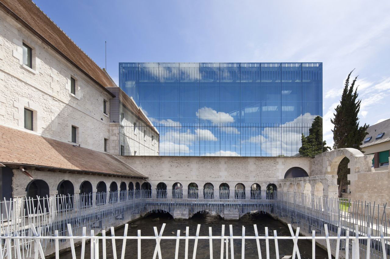 Music School Louviers – Opus 5 Architects – Normandy, France – Glass Extension