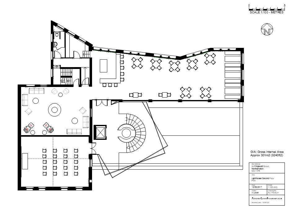 The Lighthouse Second Floor Plan