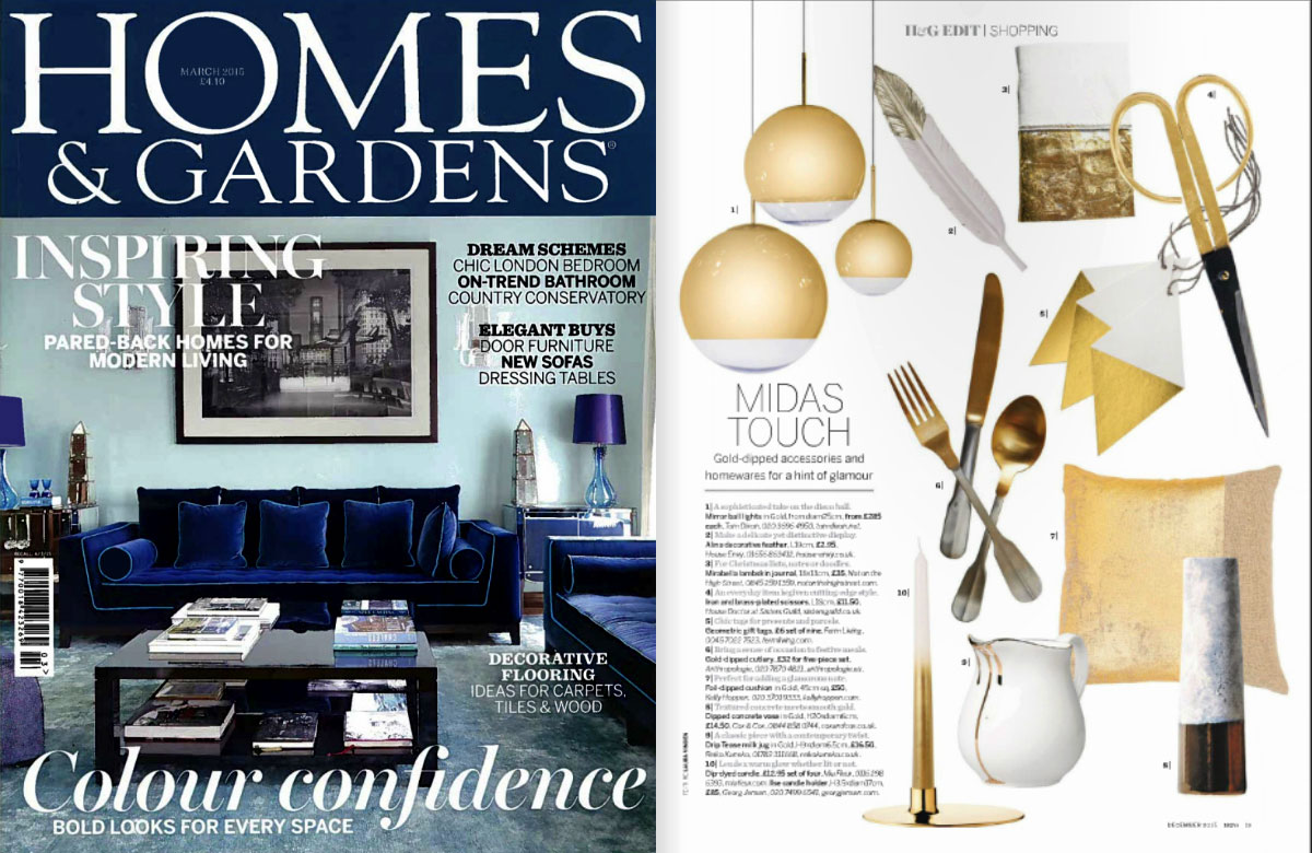 10 best interior design magazines in the UK Homes & Gardens.