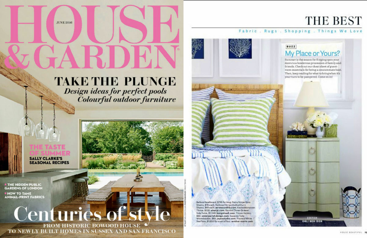 10 best interior design magazines in the UK House & Garden.