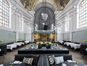 The Jane Restaurant in Antwerp Belgium by Piet Boon where Old Meets New in this Stylish Classic Modern Restaurant Interior