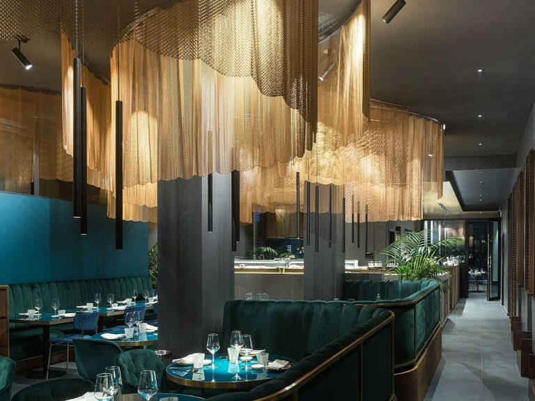 Nishiki Restaurant Milan and The Pleasure of Sushi in a Modern Japanese Restaurant by Naos Design